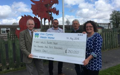 Ground-breaking environmental project will increase fish populations in the River Tywi
