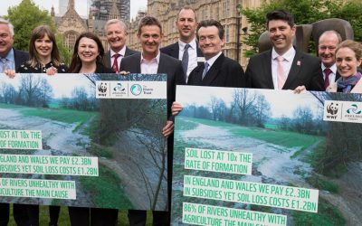 Top politicians back joint campaign to tackle agricultural pollution to restore rivers
