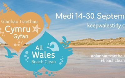 All Wales Beach Clean, 14-30 September 2018