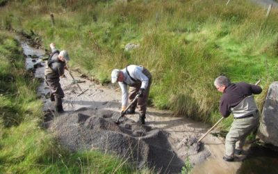 Theft of lime from our River Doethie Restoration Project