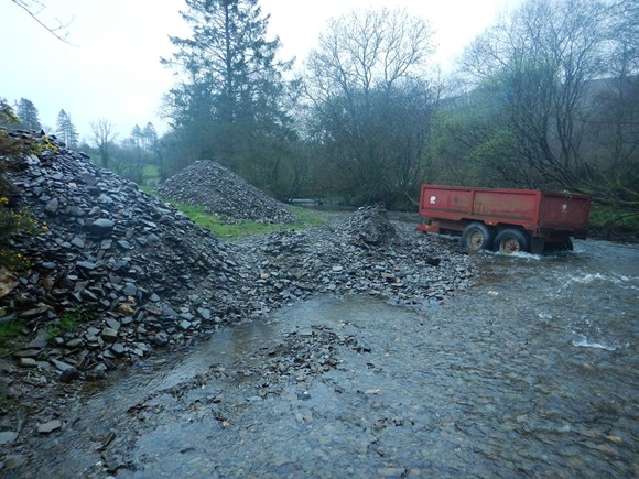 Rivers at risk from gravel removal and channel alteration